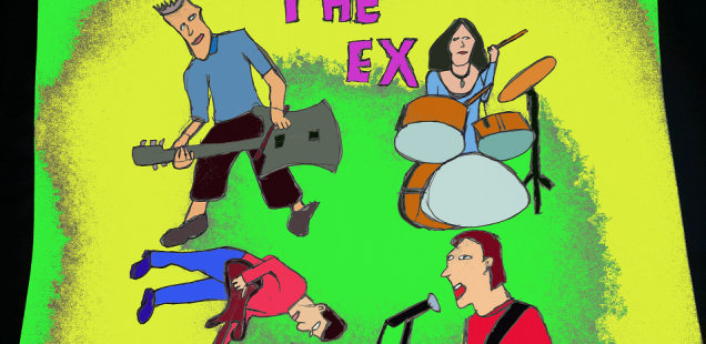Outtakes bij het Trouw-interview met The Ex